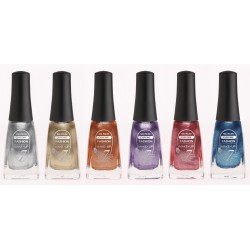 VERNIS A ONGLES CHROME LOT DE 6 ARTICLES