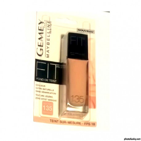fond de teint Gemey Paris Maybelline New york