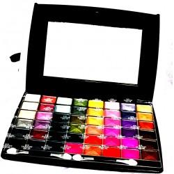 pink paris cosmetics palette de maquillage 48 fards