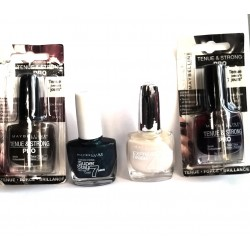 LOT DE 4 VERNIS GEMEY MAYBELLINE,