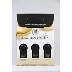 BRAZILIEN PROTEIN KIT 150 ML X 3 :JEAN MICHEL CAVADA